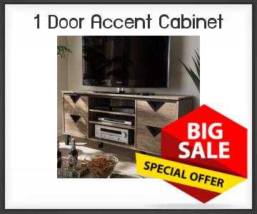 Onlinestorageauctionsgeorgia 1 Door Accent Cabinet