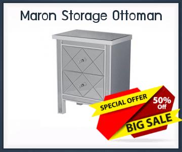 Onlinestorageauctionsgeorgia Maron Storage Ottoman